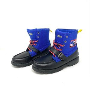 Polo Ralph Lauren Ranger Hi Youth Boots Size 2.5